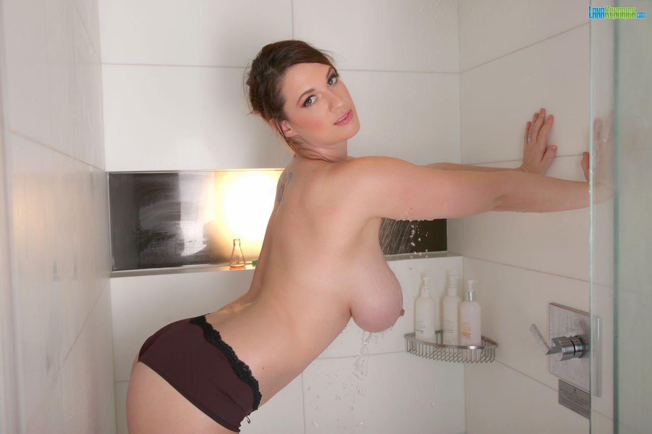 Lana kendrick adult gallery Sticky Shower Set 2
